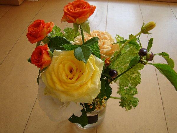 ラムズのお花