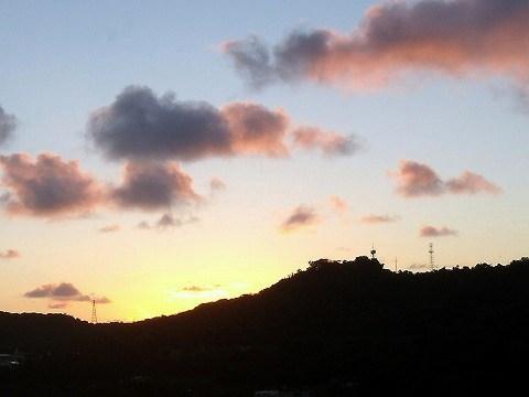 朝の空.2012年9月10日