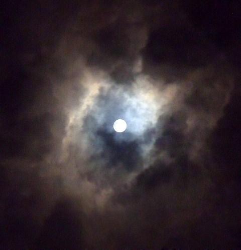 2012年10月29日.満月