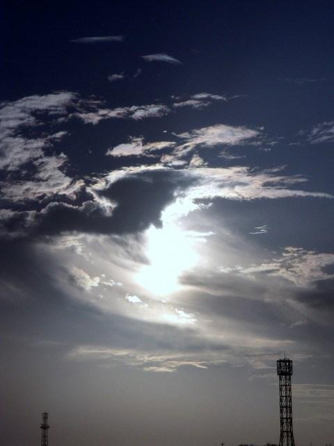 朝の空.2012年11月6日