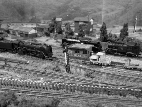鉄道模型 蒸気機関車 機関区