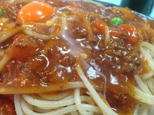 ミートソーススパゲティー8
