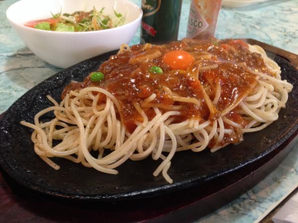 ミートソーススパゲティー7