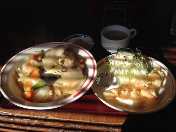 中華丼エビセット7