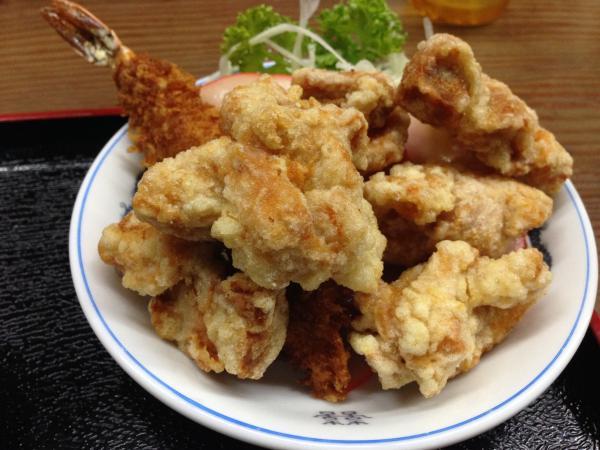 鶏唐揚げ6