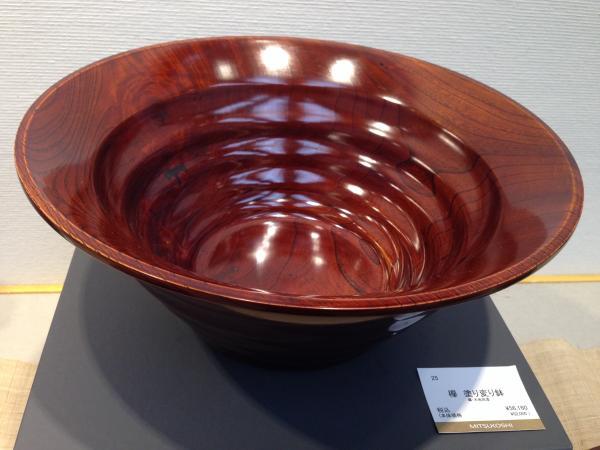 欅 塗り変り鉢3