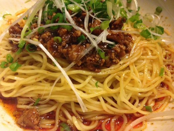 汁なしタンタン麺赤4
