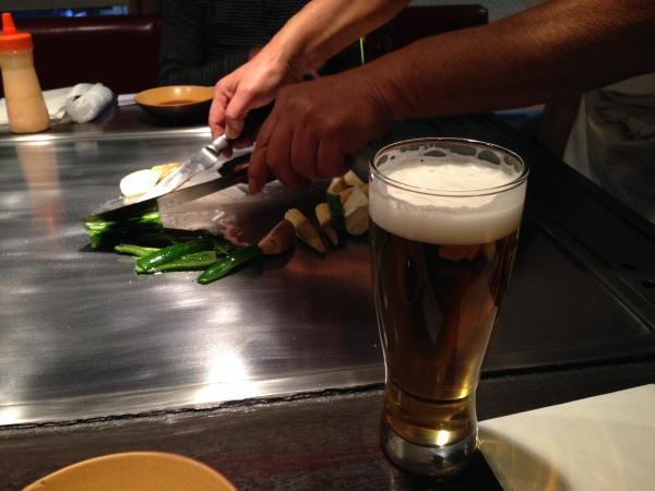 ビール炒め1