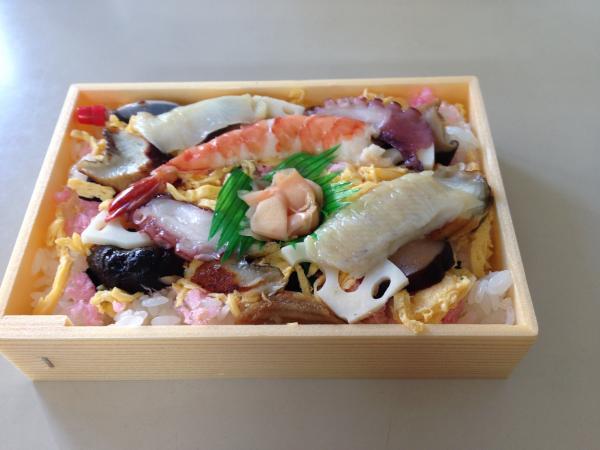 並ちらし寿司6