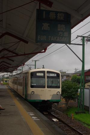 上信電鉄 上州富岡駅 500形