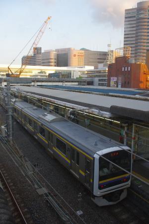 千葉駅 209系