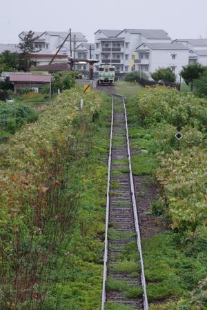 江差駅 キハ40