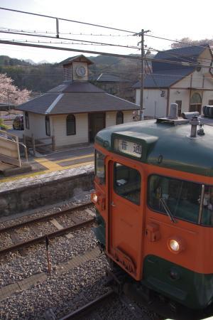 吾妻線.小野上駅