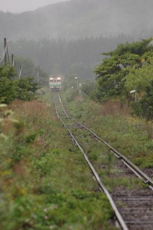 中須田駅 キハ40