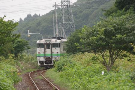 吉堀駅 キハ40