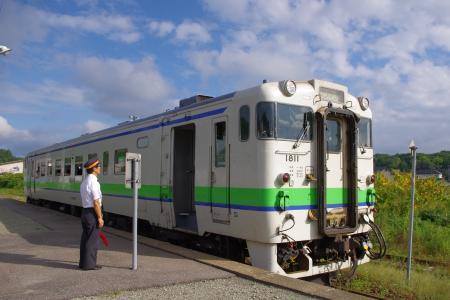湯ノ岱駅 キハ40
