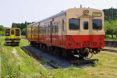 国吉駅 キハ30 いすみ205