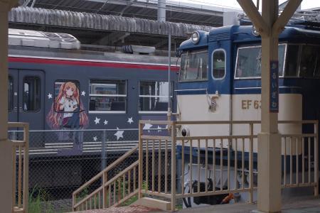 115系 EF63 軽井沢駅