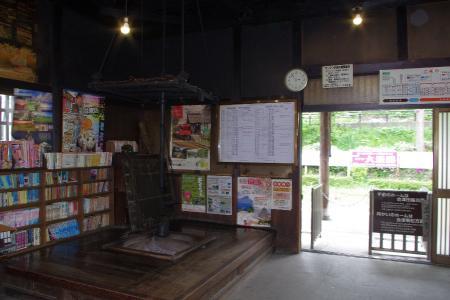 会津鉄道 湯野上温泉駅
