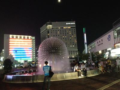 20120727岡山駅前