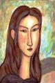 赤毛の若い娘ジャンヌエビュテルヌ