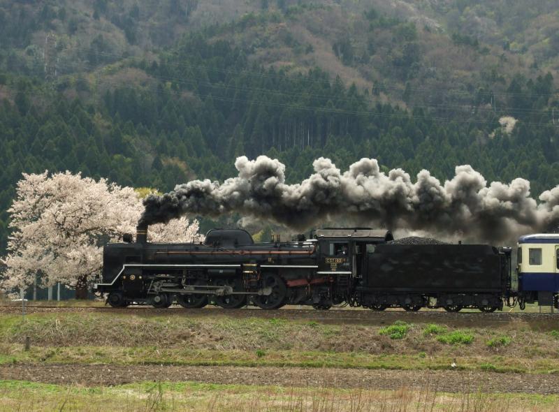 2013/04/20 磐越西線(猿和田-馬下)馬下踏切