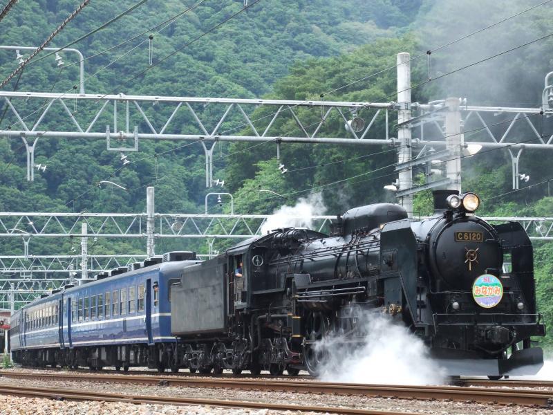 2013/07/15 上越線 水上駅上り構内