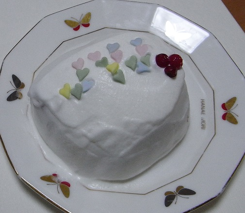 お手軽ケーキ