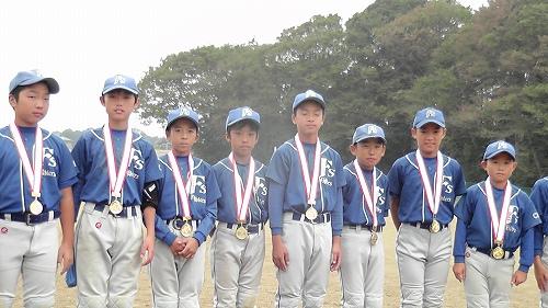 2012秋季大会優勝メダル