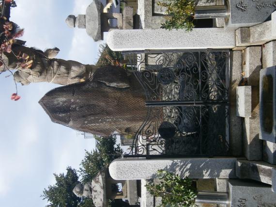 荒木又右衛門の墓