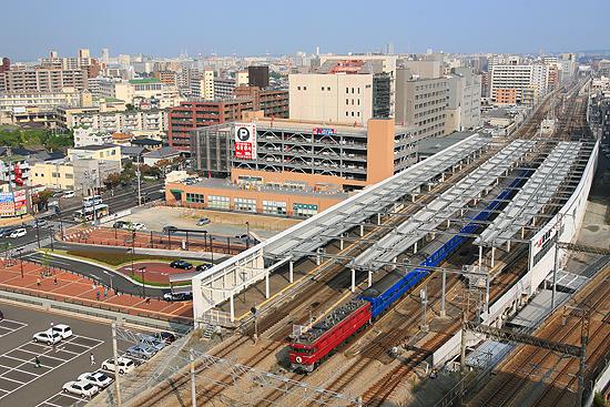 吉塚駅俯瞰