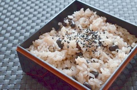 本格的な赤飯の作り方│丹波大納言赤飯 (2)