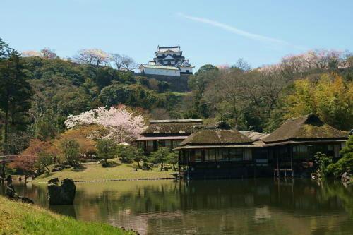 彦根城桜7 (2)