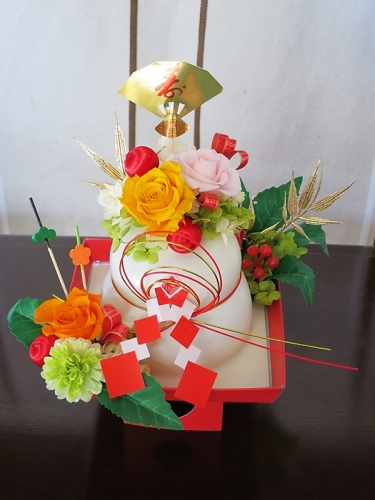 寿春~鏡餅4