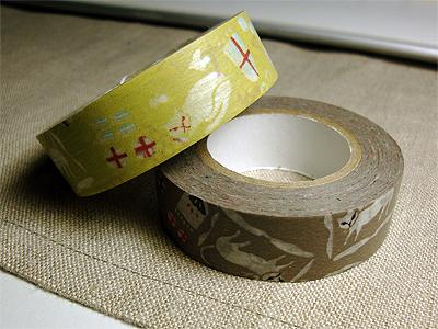 猫さん柄のマスキングテープ
