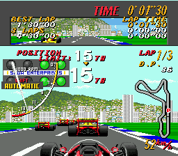 Super Monaco GP MD 01