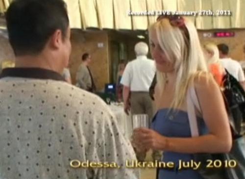 ロシア美女との出会い