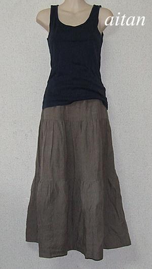 ティアードスカート