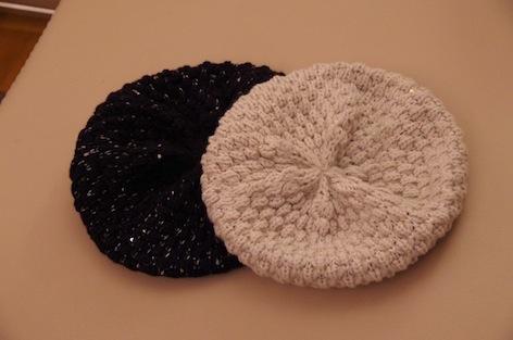 冬バーゲンニット帽