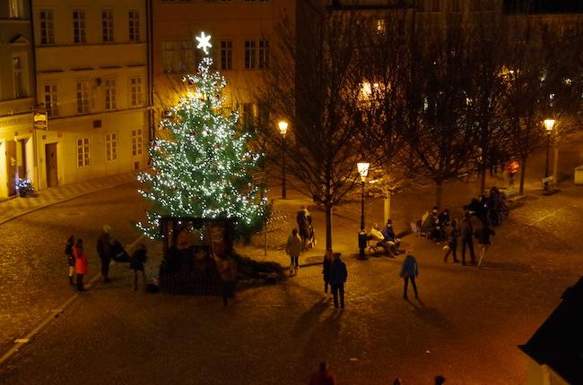 夜のプラハ2