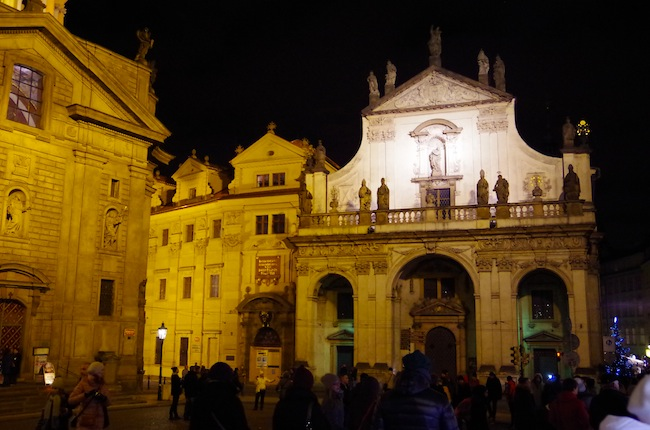 夜のプラハ11