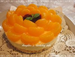 みのり 6歳ケーキ