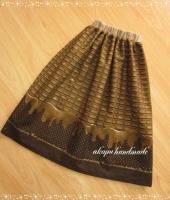 チョコレート 大人スカート