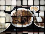 西新橋 西高楼飯店 なすみそ定食(お遊び(笑))(2012/9/27)