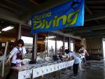 マリンダイビングがイベントで来てました(2012/10/6黄金崎公園ビーチ)