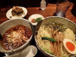 三島市安久 めん処 藤堂 漣 中盛+ちょい肉高菜御飯