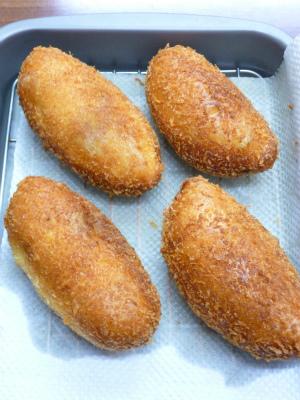 チキンマッシュカレーパン