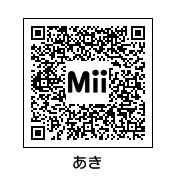 Mii@秋QR