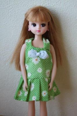 rika green summerdress