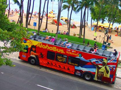 ハワイ アロハ・バス